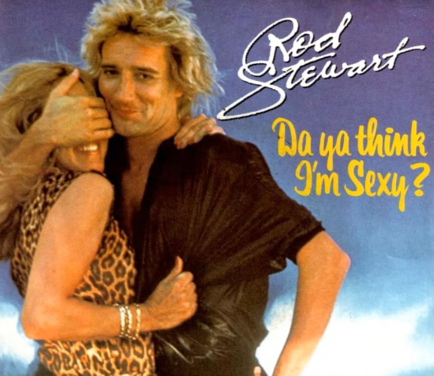 Rod Stewart - Da Ya Think I'm Sexy? sheet music for piano download |  Piano.Solo SKU PSO0023661 at note-store.com