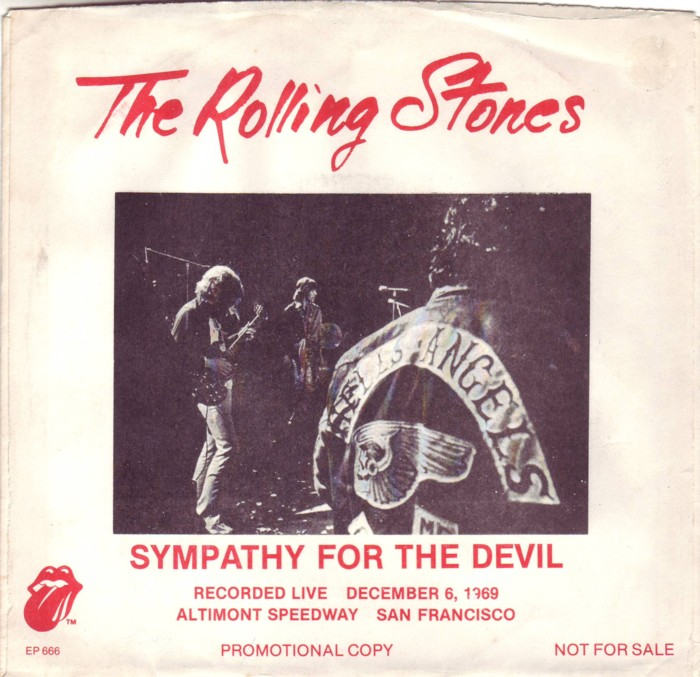Text Sympathy For The Devil