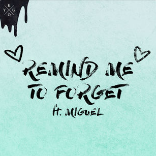 Miguel, Kygo - Remind Me to Forget piano sheet music