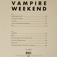 Vampire Weekend - One (Blake's Got A New Face) piano sheet music