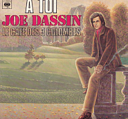Joe Dassin - Le cafe des trois colombes piano sheet music