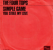 The Four Tops - A Simple Game piano sheet music