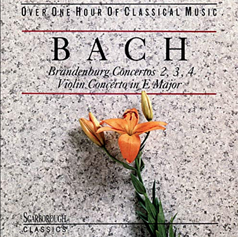 Johann Sebastian Bach - Brandenburg Concerto No. 4 in G major, BWV 1049 – Andante piano sheet music