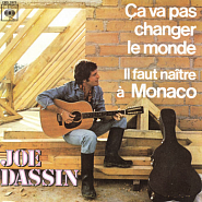 Joe Dassin - Ca Va Pas Changer Le Monde piano sheet music