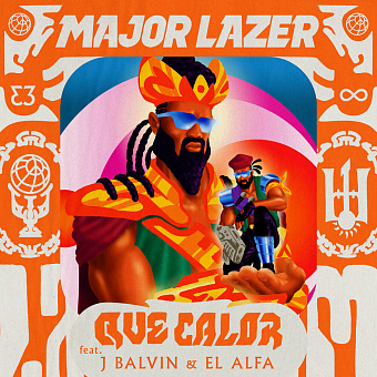 Major Lazer, J Balvin, El Alfa - Que Calor piano sheet music