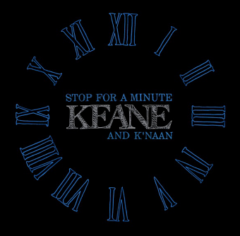 Keane - Stop For A Minute piano sheet music