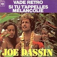 Joe Dassin - Si Tu T'Appelles Melancolie piano sheet music