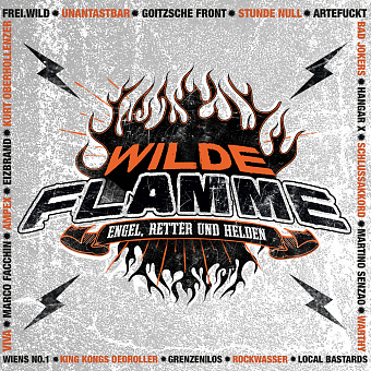 Wilde Flamme - Engel, Retter und Helden piano sheet music