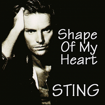 Sting - Shape of My Heart piano sheet music