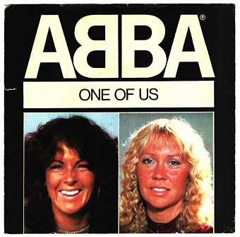ABBA - One Of Us piano sheet music