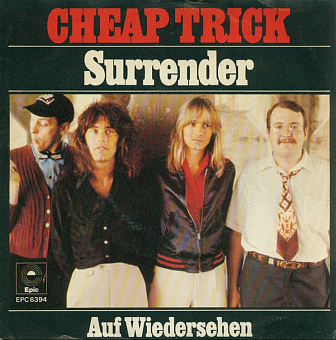 Cheap Trick - Surrender piano sheet music
