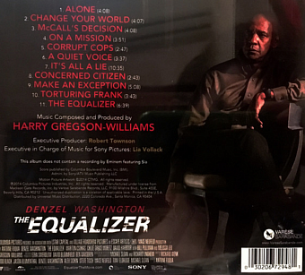 Harry Gregson-Williams - The Equalizer piano sheet music