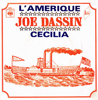Joe Dassin - L'Amerique piano sheet music