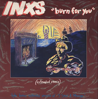 INXS - Burn For You piano sheet music