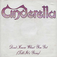 Cinderella - Don't Know What You Got (Till It's Gone) piano sheet music