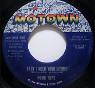The Four Tops - Babe I Need Your Lovin piano sheet music
