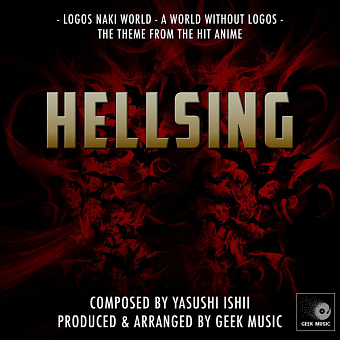 Yasushi Ishii - The World Without Logos (Hellsing OST) piano sheet music
