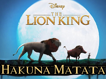 Billy Eichner, Seth Rogen - Hakuna Matata (From The Lion King) piano sheet music