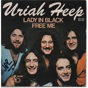 Uriah Heep - Lady In Black piano sheet music