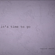 Taylor Swift - it's time to go piano sheet music
