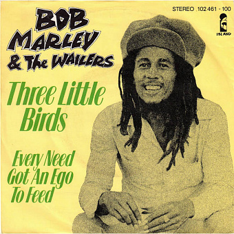 Bob Marley - Three Little Birds piano sheet music
