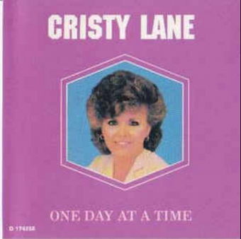Cristy Lane - One Day at a Time piano sheet music