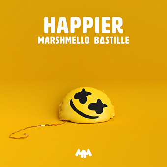 Marshmello, Bastille - Happier piano sheet music