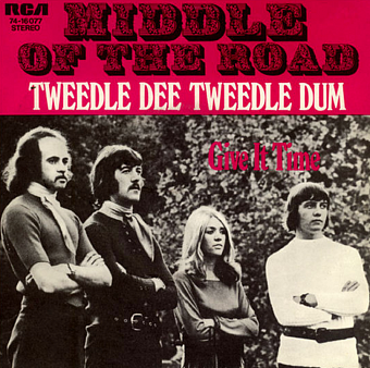 Middle Of The Road - Tweedle Dee Tweedle Dum piano sheet music