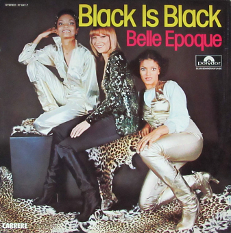 Belle Epoque - Black Is Black piano sheet music