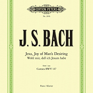 Johann Sebastian Bach - Cantata BWV 147 – Jesu, Joy of Man's Desiring piano sheet music