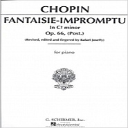 Frederic Chopin - Fantaisie Impromptu, Op. 66 piano sheet music