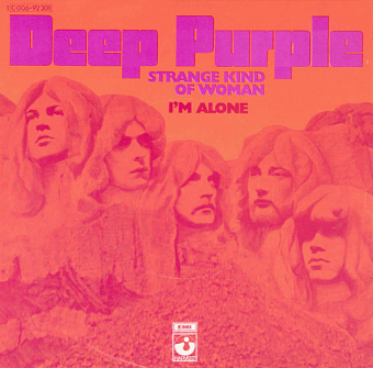 Deep Purple - Strange Kind Of Woman piano sheet music