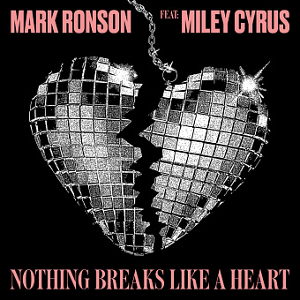 Mark Ronson, Miley Cyrus - Nothing Breaks Like a Heart piano sheet music