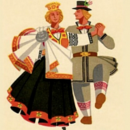 Folk song - Latvian folk song piano sheet music