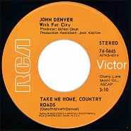 John Denver - Take Me Home, Country Roads piano sheet music