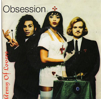 Army Of Lovers - Obsession piano sheet music
