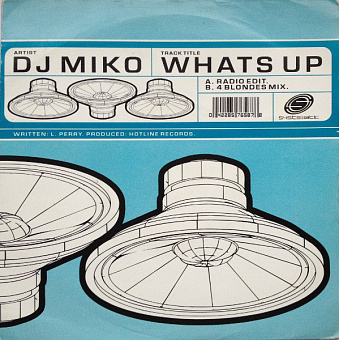 DJ Miko - What's Up piano sheet music