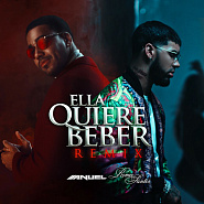 Anuel AA and etc - Ella Quiere Beber piano sheet music