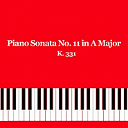 Wolfgang Amadeus Mozart - Piano Sonata No. 11 in A major, part 2 Menuetto piano sheet music