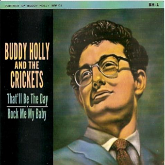 The Crickets, Buddy Holly - That'll Be the Day piano sheet music