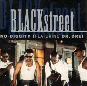 Blackstreet, Dr. Dre, Queen Pen - No Diggity piano sheet music