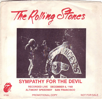 The Rolling Stones - Sympathy for the Devil piano sheet music