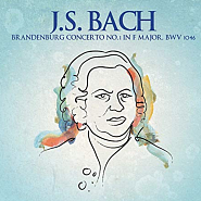 Johann Sebastian Bach - Brandenburg Concerto No. 1 in F major, BWV 1046 – Adagio piano sheet music
