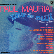 Paul Mauriat - Love is blue piano sheet music