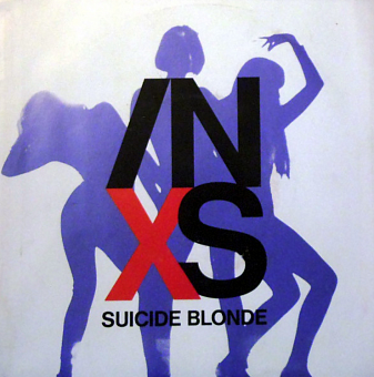INXS - Suicide Blonde piano sheet music