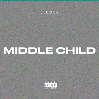 J. Cole - Middle child piano sheet music