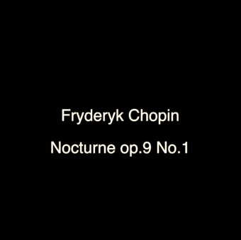 Frederic Chopin - Nocturne B-flat minor, Op. 9, No.1 piano sheet music