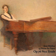 Jean Sibelius - Etude in A minor, op. 76 No. 2 piano sheet music