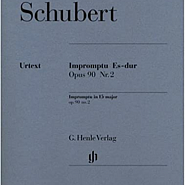 Franz Schubert - Impromptu No. 2 In E Flat major, D.899 Op.90 piano sheet music