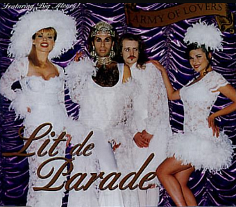 Army Of Lovers - Lit De Parade piano sheet music
